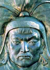 The mild-mannered Genghis Khan